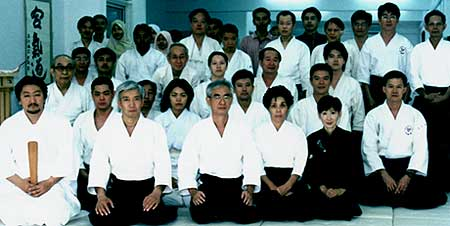It was a longing moment for Malaysia Aikikai to relocate the HQ to Kuala Lumpur. Ueshiba Moriteru Doshu and Mrs Kyoko Ueshiba were invited as guests of honor for the Dojo Opening on September 25th, 2002
