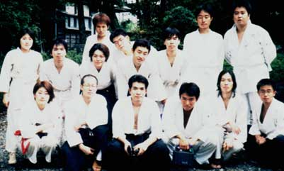 Aikido Club is founded by Miss Sae Yamada and is carried on by successors Tutomu Maeda and Toshihiko Kojima