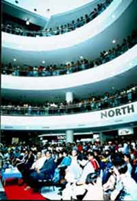Mid Valley Mega Mall Shopping Center, packed as picture shown.