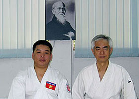 Mr. Bui Hoang Lan trained at the Academy Aikido Jyuku.