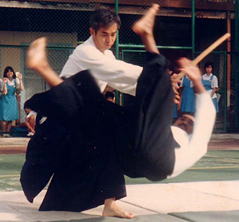 Yamada Jun Shihan and all family members Atsushi, daughter Sae and Mrs. Kimiko are committed Aikidokas.